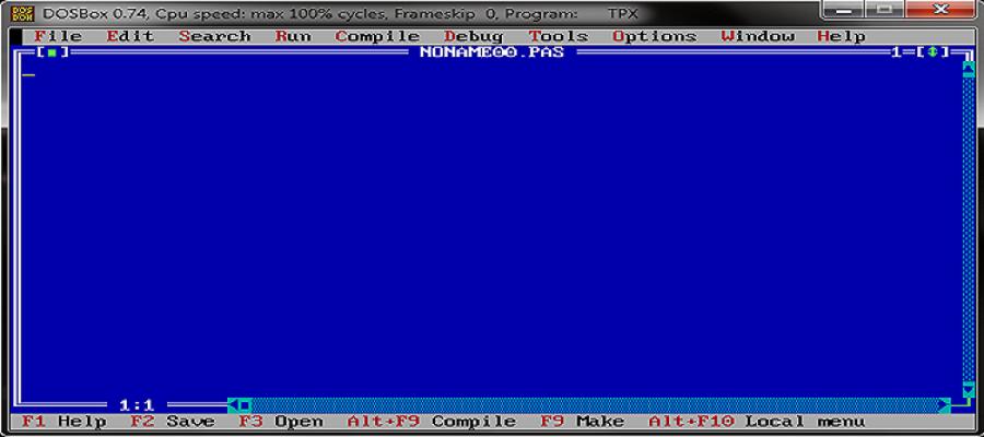 Cara Install Turbo Pascal Pada Windows 64 bit   Ardyan's